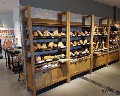 Meubles boulangerie libre service