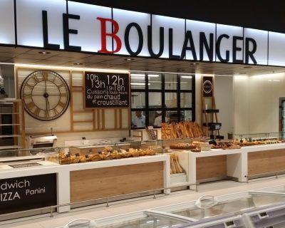 Mobiliers boulangerie traditionnelle SU LES ESSARTS