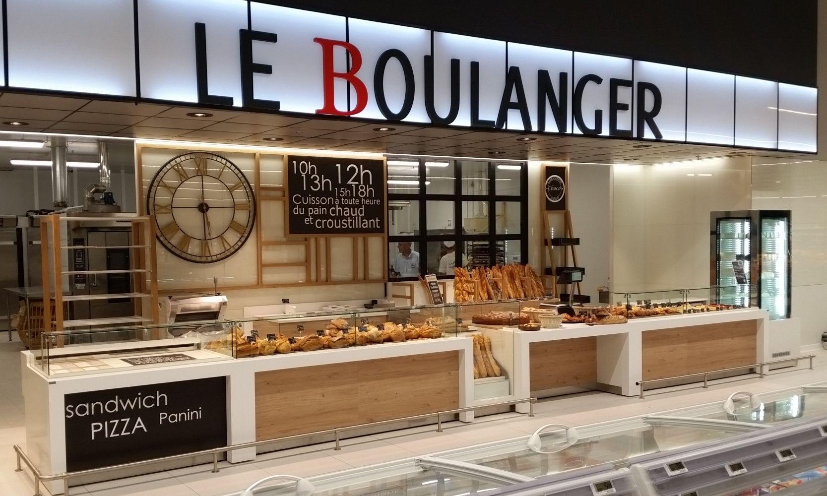 Mobiliers Présentoirs Boulangerie Traditionnelle Someva