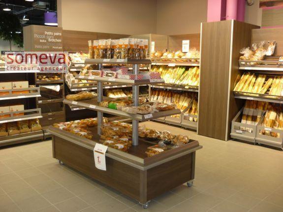 présentoir pour votre espace boulangerie et pâtisserie