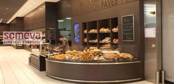 mobilier boulangerie libre-service et traditionnelle
