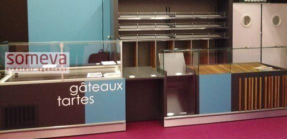 Mobilier Boulangerie libre service et traditionnelle