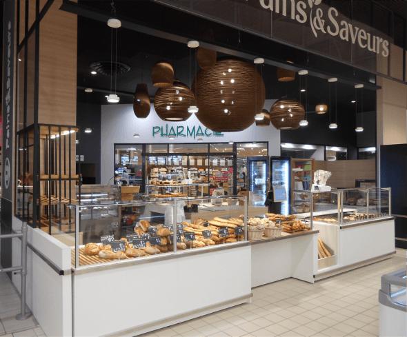 Meubles boulangerie traditionnelle SU LES ESSARTS