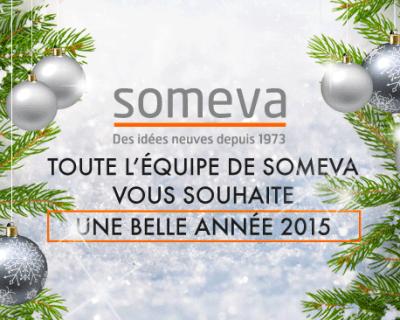 Meilleur voeux Someva 2015