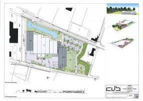 Plan entreprise d'agencement de mobilier GMS, Someva