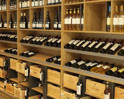 Mobilier design cave à vins