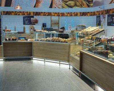 Mobilier GMS pour boulangerie traditionnelle