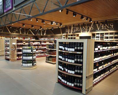 Mobilier GMS pour cave à vin