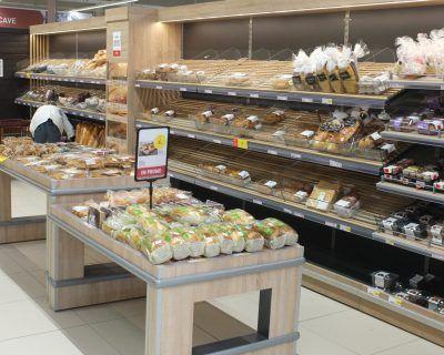 Meuble boulangerie libre service