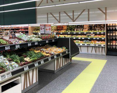 Espace fruits et légumes Hyper U Blain