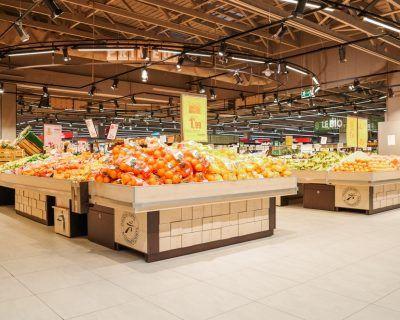 Ilôt pour fruits et légumes